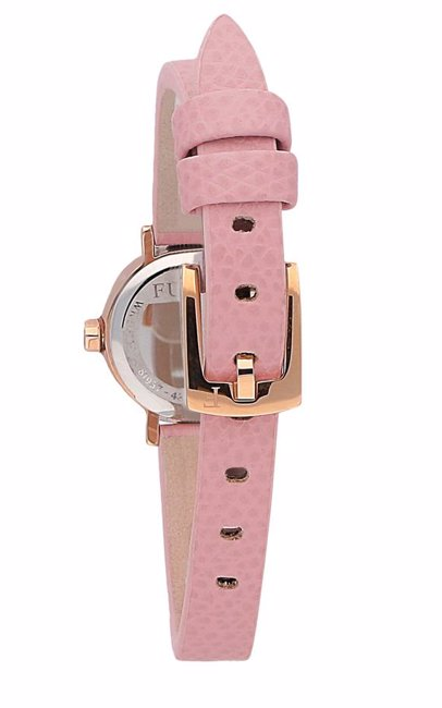 d830660f0e BuyInvite | Furla Furla Women's Pink Dial Calfskin Leather Watch