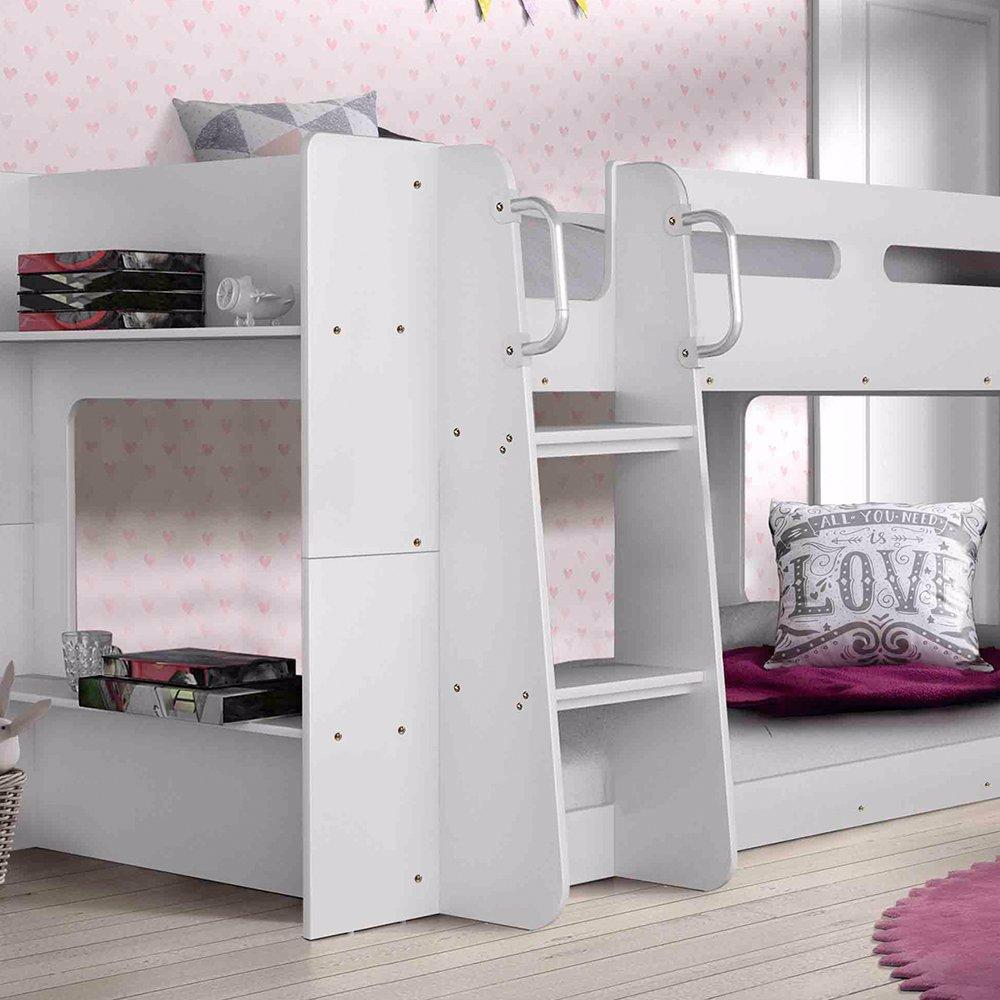 Www Ozsale Com Au Pheonix Low Line Single Bunk Bed With Shelves