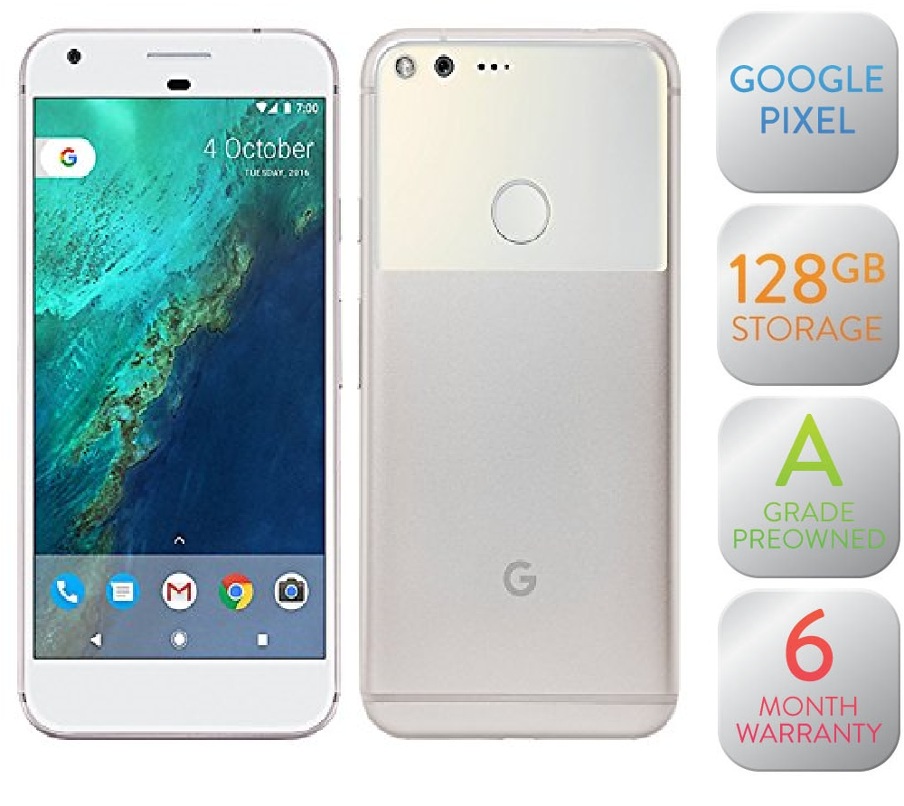Pixel XL 128GB Very Silver (Refurbished - A Grade)
