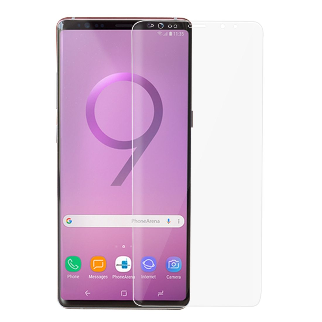 For Samsung Galaxy Note 9 Screen Protector Full Curved Edge to Edge Protection