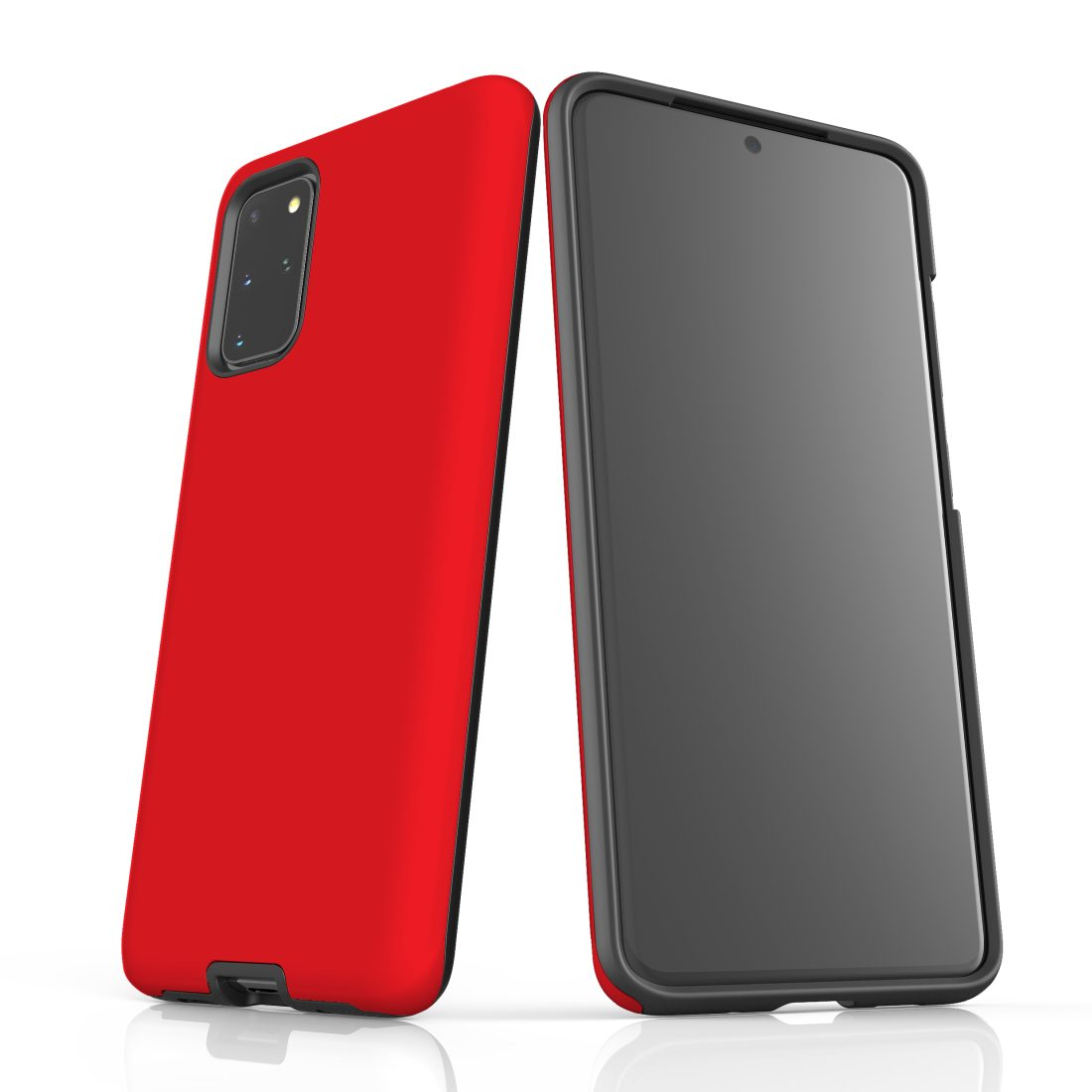 For Samsung Galaxy S20+ Plus Case, Armour Back Cover, Red